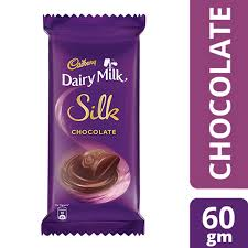CADBURY DAIRY MILK  SILK CHOCOLATE 60GM