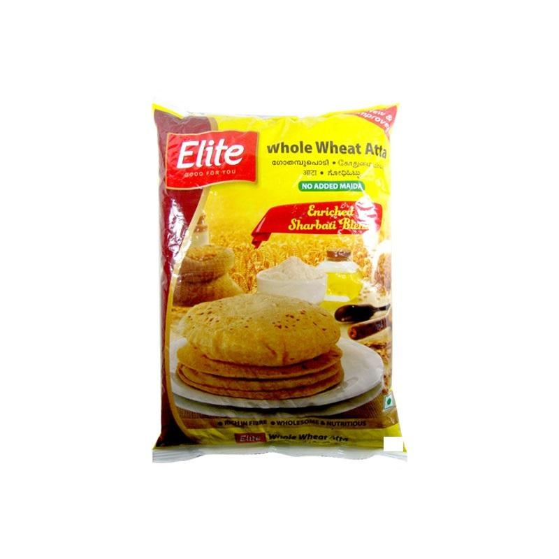 ELITE WHOLE WHEAT ATTA 500G