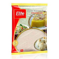 ELITE DOUBLE ROASTED  RAVA 500G