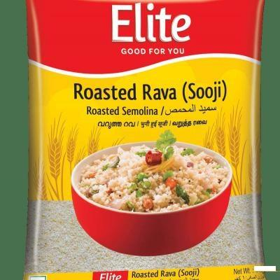 ELITE ROASTED  RAVA (SOOJI)500GM