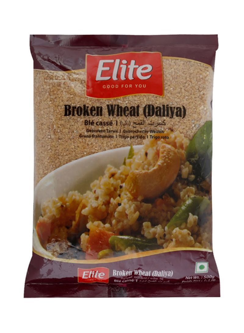 ELITE BROKEN WHEAT(DALIYA) 500G