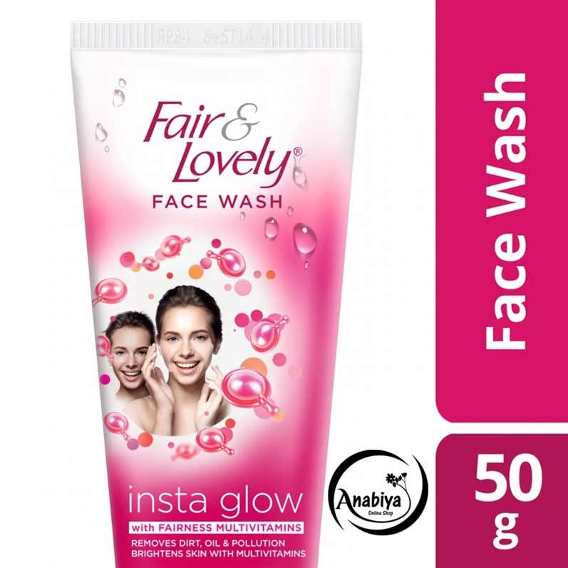FAIR &LOVELY FACE WASH INSTANT GLOW  50G