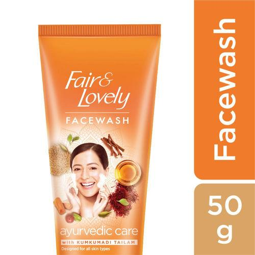FAIR &LOVELY FACE WASH AYUREVEDIC CARE 50G