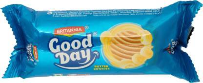 BRITANNIA GOODDAY BUTTER  COOKIES 53GM+22GM EXTA