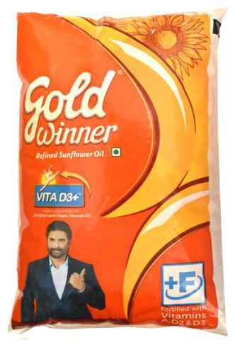 GOLD WINNER SUNFLOWER OIL 500ML