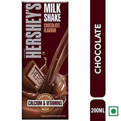 HERSHEY'S MILK SHAKE  CHOCOLATE  FLAVOUR 200ML