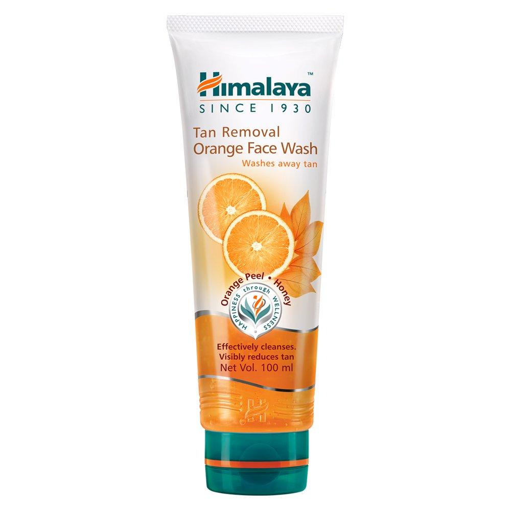 HIMALAYA TAN REMOVAL ORANGE FACE WASH 100ML