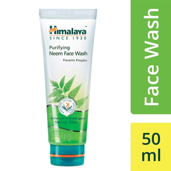HIMALAYA PURIFYING NEEM FACE WASH 50ML