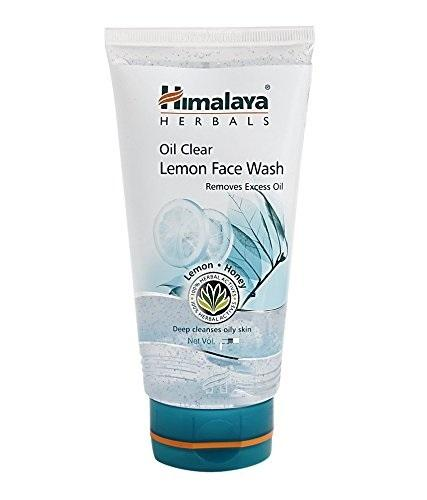 HIMALAYA OIL CLEAR LEMON  FACE WASH 50ML