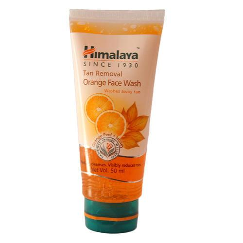 HIMALAYA TAN REMOVAL ORANGE FACE WASH 50ML