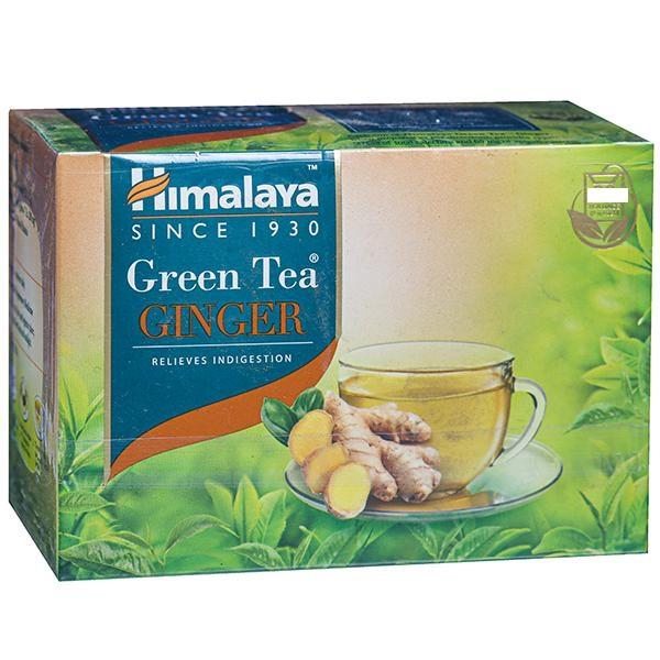 HIMALAYA GREEN TEA GINGER (10 TEA BAG- 2G EACH)