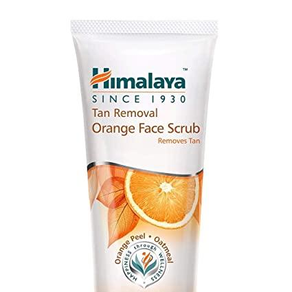 HIMALAYA TAN REMOVAL ORANGE FACE SCRUB 50G