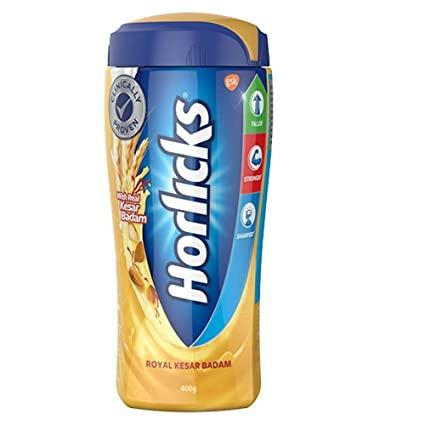 HORLICKS ROYAL  KESAR BADAM JAR 400G