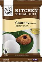 KITCHEN TREASURES CHUTNEY POWDER 100G