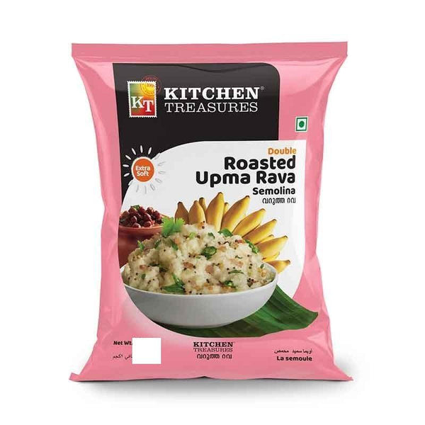 KITCHEN TREASURES DOUBLE ROASTED UPMA RAVA 500G