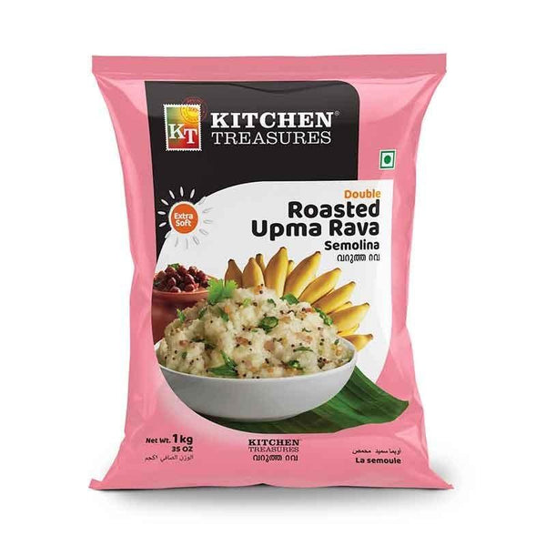 KITCHEN TREASURES DOUBLE ROASTED UPMA RAVA 1KG