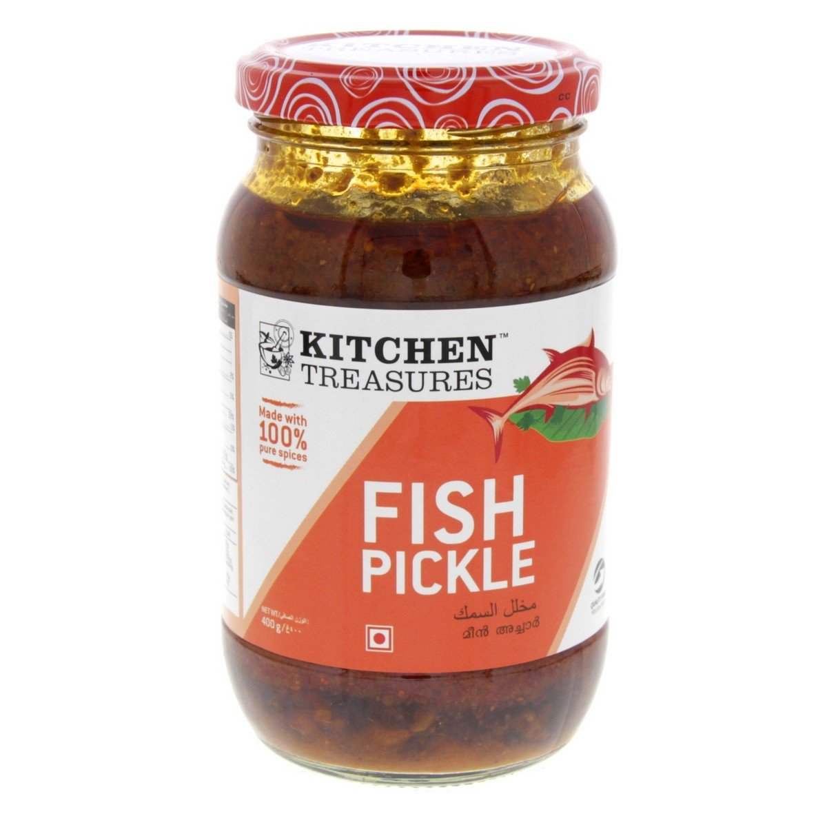 KITCHEN TREASURES  FISH PICKLE 400G