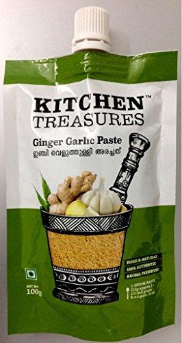 KITCHEN TREASURES GINGER GARLIC PASTE 100G