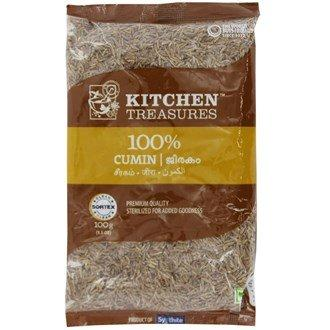 KITCHEN TREASURES CUMIN (JEERAKAM) 100G