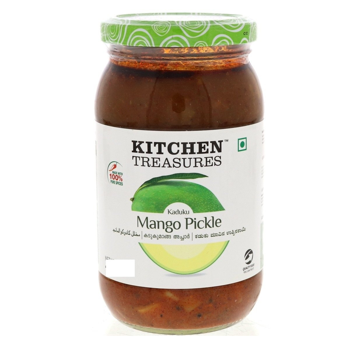 KITCHEN TREASURES KADUKU MANGO PICKLE 150G