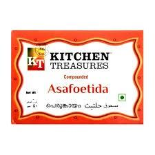 KITCHEN TREASURES ASAFOETIDA (PERUNKAYAM) 15GM