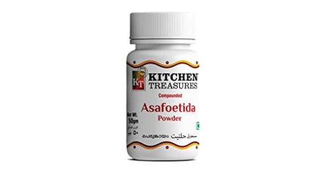 KITCHEN TREASURES ASAFOETIDA POWDER (PERUNKAYAM) 20GM