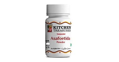 KITCHEN TREASURES ASAFOETIDA POWDER (PERUNKAYAM) 50GM