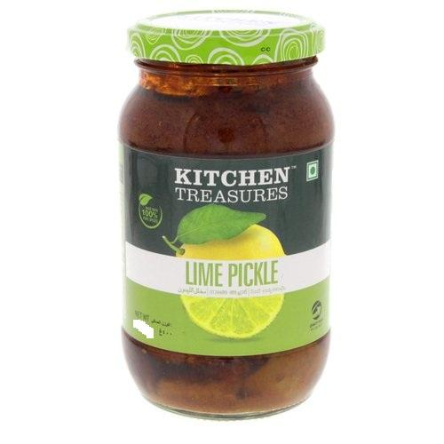KITCHEN TREASURES LIME PICKLE 150G