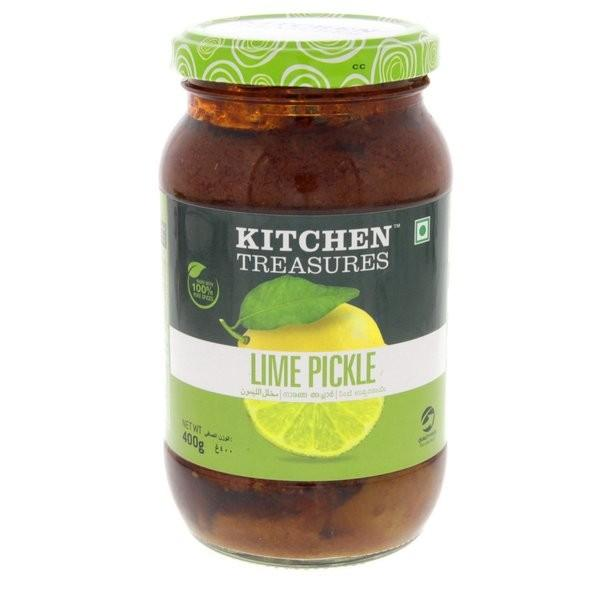 KITCHEN TREASURES LIME PICKLE 400G
