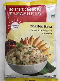KITCHEN TREASURES ROASTED RAVA 500G