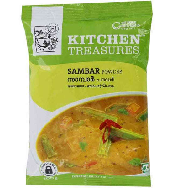 KITCHEN TREASURES SAMBAR POWDER 100G