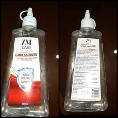 ZM LABS   HAND SANITIZER GEL 500ML