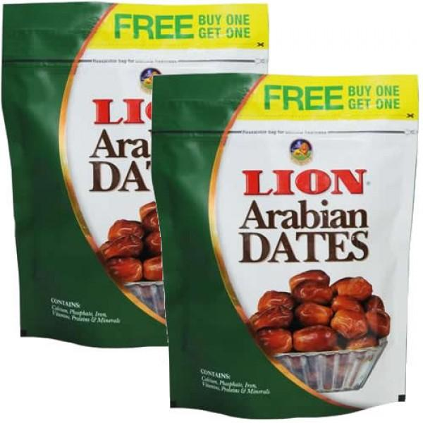 LION DATES 250G   FREE BUY ONE GET ONE