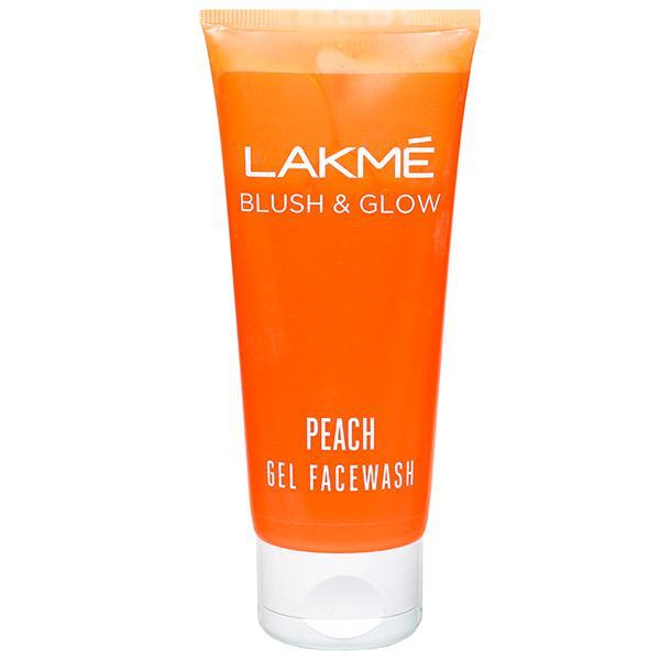 LAKME GEL FACE WASH  PEACH 50G