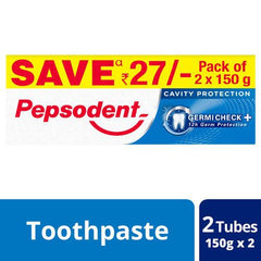 PEPSODENT TOOTH  PASTE  150G*2N