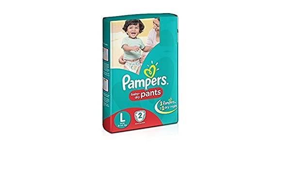PAMPERS BABY  DIAPER PANTS LARGE(2PAD)