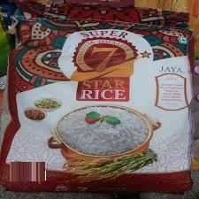 RICE 7 STAR JAYA 5KG(BAG)