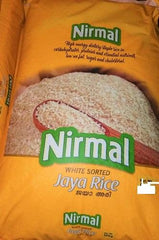 RICE NIRMAL  WHITE SORTED JAYA RICE 5KG(BAG)