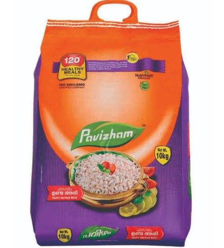 RICE PAVIZHAM SHORT GRAIN MATTA RICE(UNDA) 10 KG(BAG)