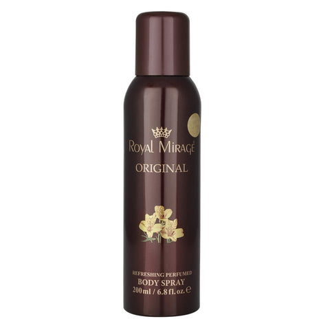 ROYAL MIRAGE BODY SPRAY ORIGINAL  200ML