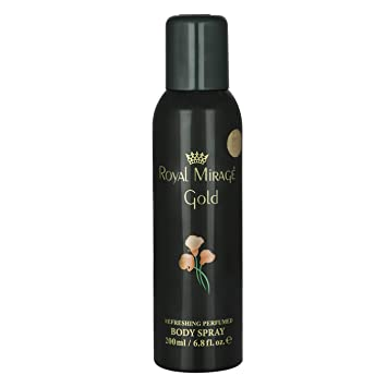 ROYAL MIRAGE BODY SPRAY GOLD 200ML