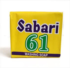 SABARI 61 WASHING SOAP 125G+15G FEE