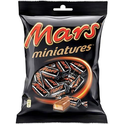 MARS MINIATURES CHOCOLATES 100G(10UNITS*10G EACH)