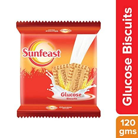 SUNFEAST GLUCOSE BISCUITS 120G
