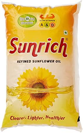 SUNRICH SUNFLOWER OIL  500G