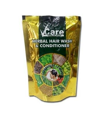 V CARE HERBAL HAIR WASH&CONDITIONER 100G