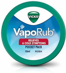 VICKS VAPO RUB 10ML POCKET PACK