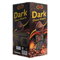 DARK CHOCO HEARTS 425GM(125PCS)