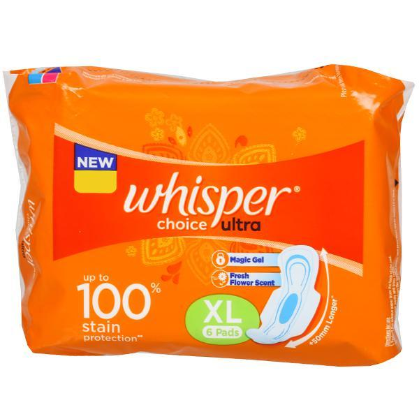 WHISPER CHOICE ULTRA XL(6PADS)