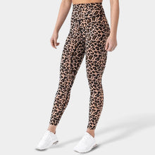 Lade das Bild in den Galerie-Viewer, Dark Leopard Legging Leggings